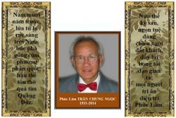 Năm Mới - Nhớ GS Trần Chung Ngọc và Bài Điếu của Thầy Thích Thiệu Hữu